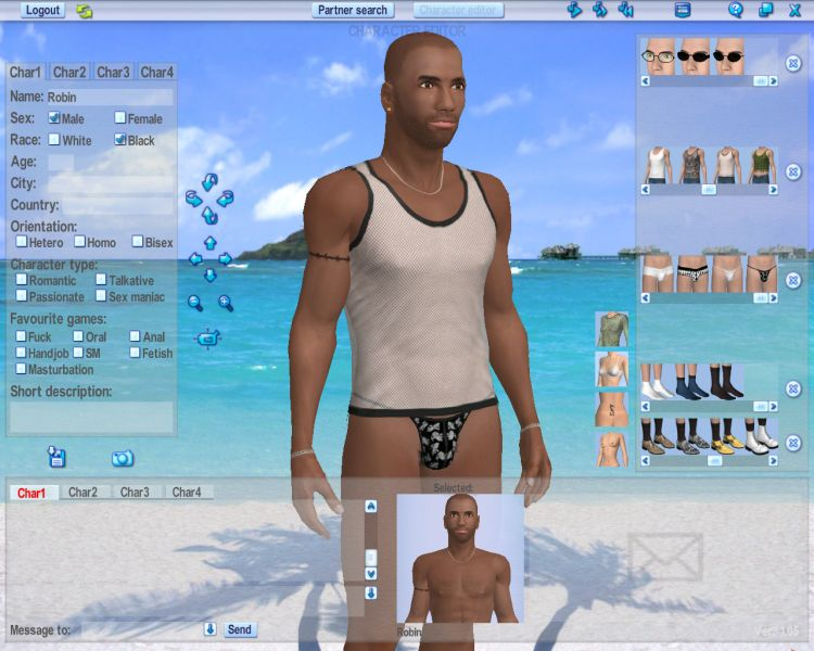 Screenshot 38 of Introducing our 3d Software for Couples Dating Software