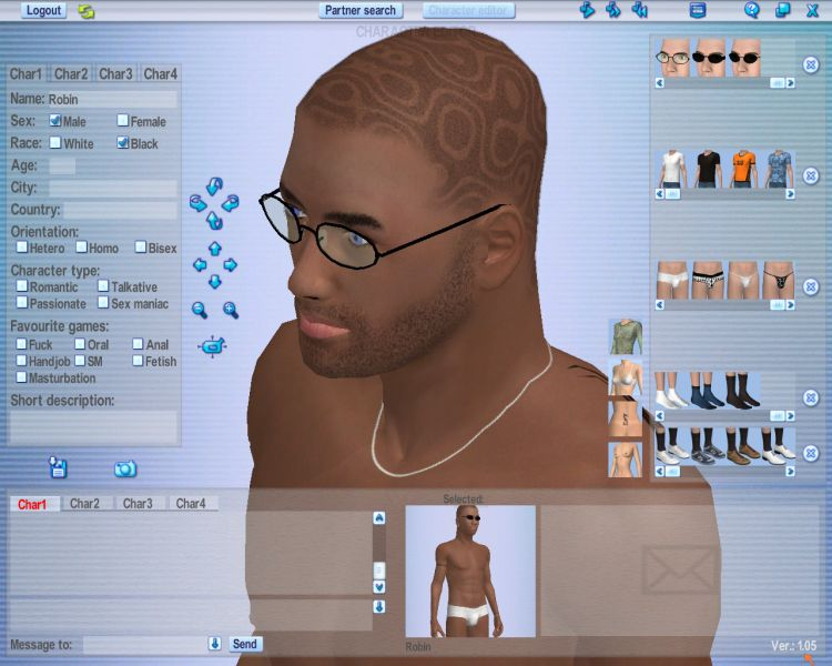 Screenshot 44 of Introducing our 3d Software for Couples Dating Software