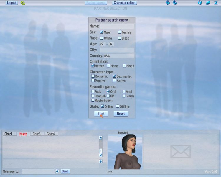 Couples Dating Multiplayer 3d Online Client Sample